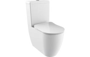 rimfree back to wall wc Free universal trap, dual flush