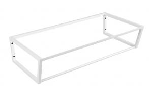 metallist valamukonstruktsioon Ska, 90 cm, matt valge
