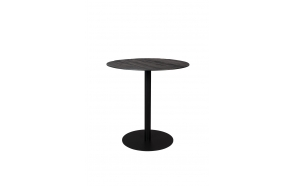 Bistro Table Braza Round Black