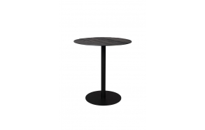 Counter Table Braza Round Black