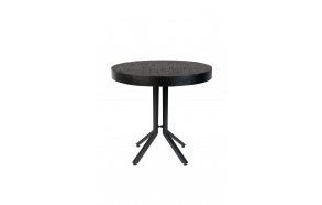Bistro Table Maze Round Black