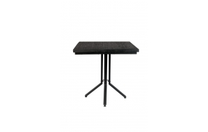 Bistro Table Maze Square  Black