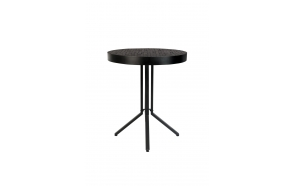 Counter Table Maze Round Black