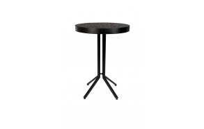 Bar Table Maze Round Black