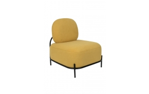 Lounge Chair Polly Yellow