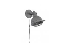 Wall Lamp Evan Matt Grey