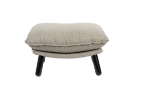 Hocker Lazy Sack Light Grey