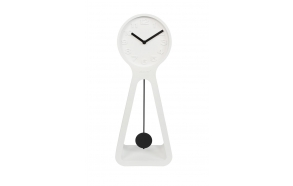 Clock Humongous White