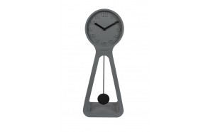 Clock Humongous Grey