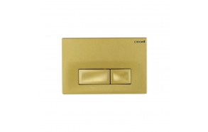 CREAVIT ORE flush plate, gold