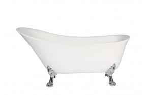 bath Rosanna, chromed feet, siphon not included