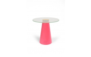 Leader Of The Fanclub Side Table Pink