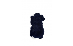 dekoratiivne seina/laualamp Devilish Bulldog Blue
