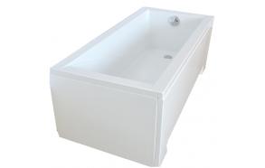 "bathtub 150x70 cm ""MODENA"", incl drain and long side panel"