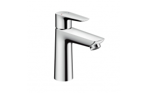 Hansgrohe Talis E single lever basin mixer 110 chrome, with pop-up waste set