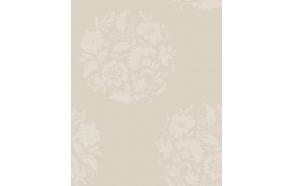 Floral Motif , Cream
