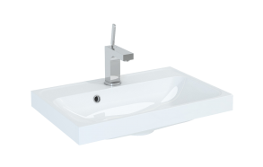 washbasin kwadro 60, artificial stone