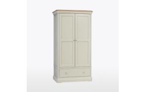 2 ukse ja sahtliga riidekapp Cromwell