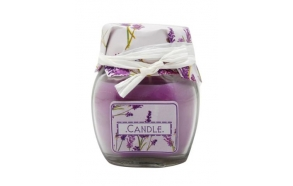 Scented candle Lavander in glas