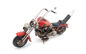 Decoration Motorcycle Harley, 42x13x22cm