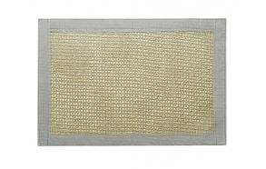 Placemate 45x30 cm, beige/grey