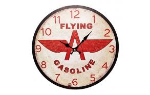 Wall clock Gasoline 33.8x33.8x3.5cm