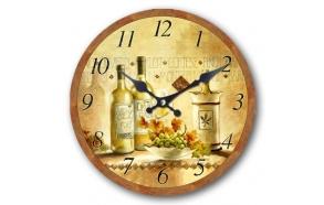 Wall clock Nostalgia 33.8x33.8x4cm