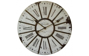 Wall iron rod clock 60x60x4.5cm