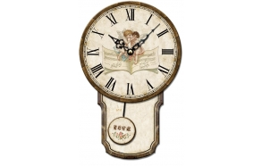 Wall clock Antik 48x29x4.5cm