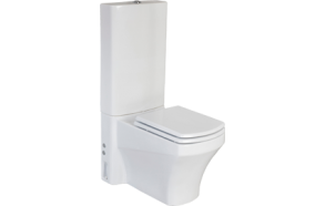 wc compact SORTI, back to wall, no seat