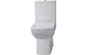 wc compact LARA , back to wall, no seat