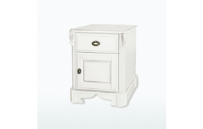 One Drawer/Door Bedside Chest (L/H hinged)