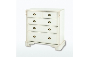Five Drawer Split Chest