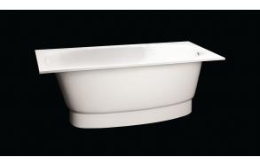 Cast stone bath UNA, no panel and siphon