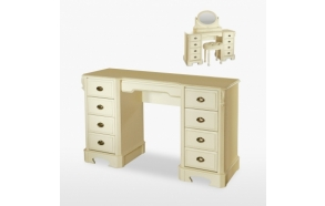 Nine Drawer Dressing Table