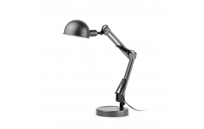 TABLE LAMP 1L E14 11W GRIS