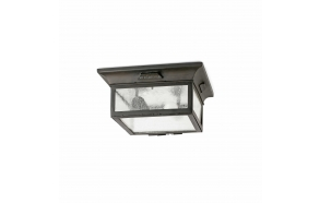ASTI CEILING LAMP 2L E27 60W, METAL+GLASS