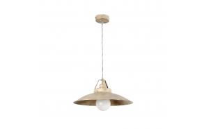CEILING LAMP TAVERNA 1L E27 60W ANTIQUE WHITE, METAL