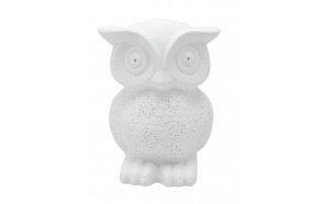 Table lamp Owl, h25cm