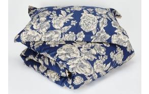 Padjapüür Peonia Blue, 50x70+5 cm, 100% satiin