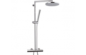 Thermostatic rain shower set SUVI, kroom