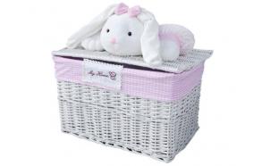 Korv Bunny XL, 40x60x40 cm