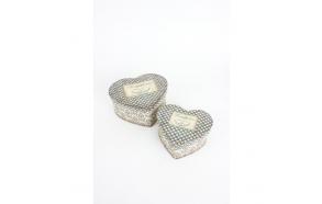 südamekujuline karp, 2 suurust