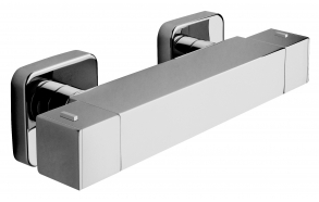 "EXPOSED THERMOSTATIC SHOWER MIXER ""UNA"""