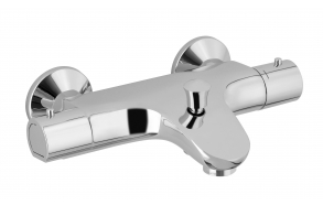 "EXPOSED THERMOSTATIC BATH SHOWER MIXER ""JOY"""