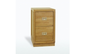 Pedestal with 2 drawers 76x45x65