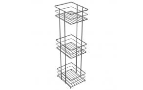 freestanding basket, metal