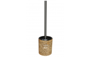 toilet brush w holder ZEBRA