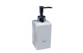 liquid soap dish NORDIC SQUARE