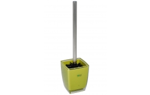 toilet brush w holder KATI DARK GREEN